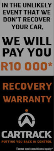 Cartrack Recovery Warranty